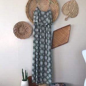 Teezeme Green Maxi dress L